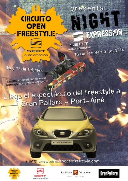 Open Freestyle en Port Aine